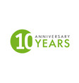 10 years logo concept