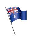 australia flag vector image vector image