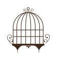 birdcage icon image vector image vector image