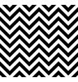 black and white chevron retro decorative pattern vector image