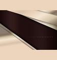 elegant metallic template background vector image vector image