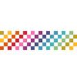horizontal seamless abstract design banner vector image