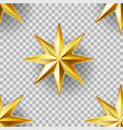 luxury stars seamless pattern vector image vector image