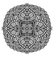 mandala oriental decorative flower pattern vector image vector image