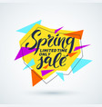 original sale poster for discount vector image vector image
