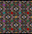 ornamental colorful greek seamless pattern vector image