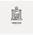 Plumbing Logo vector image vector image