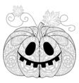 Pumkin for Halloween vector image