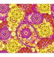 seamless pattern in Eastern style Colorful vector image vector image