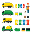 Waste Collection Truck Bin Dumpster Sweeper
