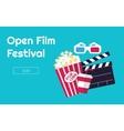 Cinema festival vector image