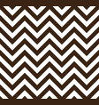 brown chevron retro decorative pattern background vector image