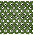 Creative football sport seamless pattern