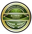 Kombu Seaweed vector image vector image