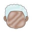 man head avatar person mature male vector image