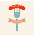 Sausage icon vector image vector image