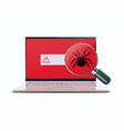 computer viruses concept vector image