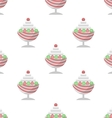 background for ice cream dessert vector image