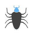 cockroach brown pest vector image