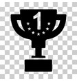 first prize cup icon vector image vector image