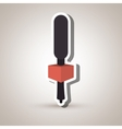 microphone isolated design vector image vector image
