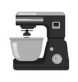 mixing food stand model mixer kitchen cafe vector image vector image