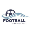 soccer or football match isolated icon vector image vector image