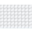 White tiles pattern vector