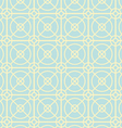 Circle and Square Pattern on Pastel Color vector image