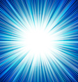 abstract background blue star burst vector image