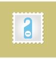 Do Not Disturb stamp vector image