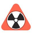 radon gas icon cartoon style vector image
