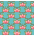 Stylized Lotus Background vector image