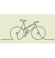 abstract bike vector image vector image