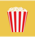 bag of popcorn vector image vector image