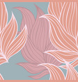 colorful seamless floral background pattern vector image
