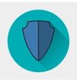 shield icon Armor symbol vector image