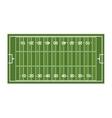 field football american sport vector image vector image