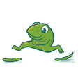 Leaping Frog vector image