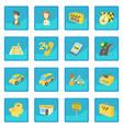 taxi icon blue app vector image