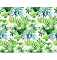 Watercolor spring pattern vector image vector image