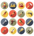 Work Tools Icon Set vector image vector image