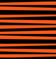 abstract horizontal striped pattern orange and vector image vector image