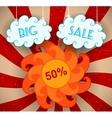 Big Sale vector image