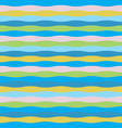 colorful wave seamless pattern for summer theme vector image vector image