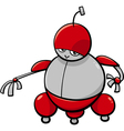 cute robot cartoon character vector image vector image