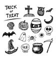 halloween icon cartoon vector image vector image
