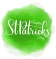 happy saint patrick day vector image vector image