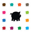isolated piggy icon pig element can be vector image