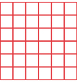 Red White Grid Chess Board Background vector image